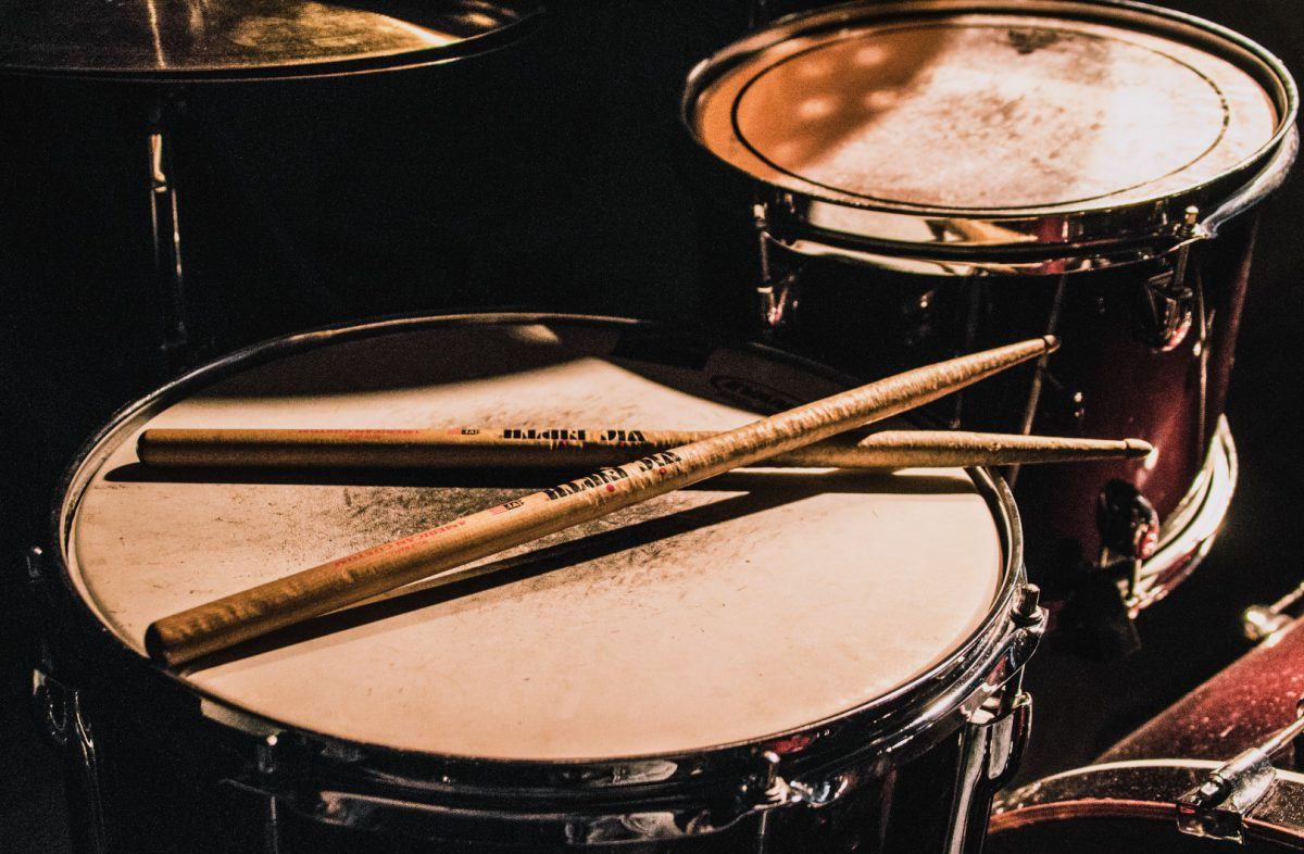 Ragtime Jazz Solo Drums