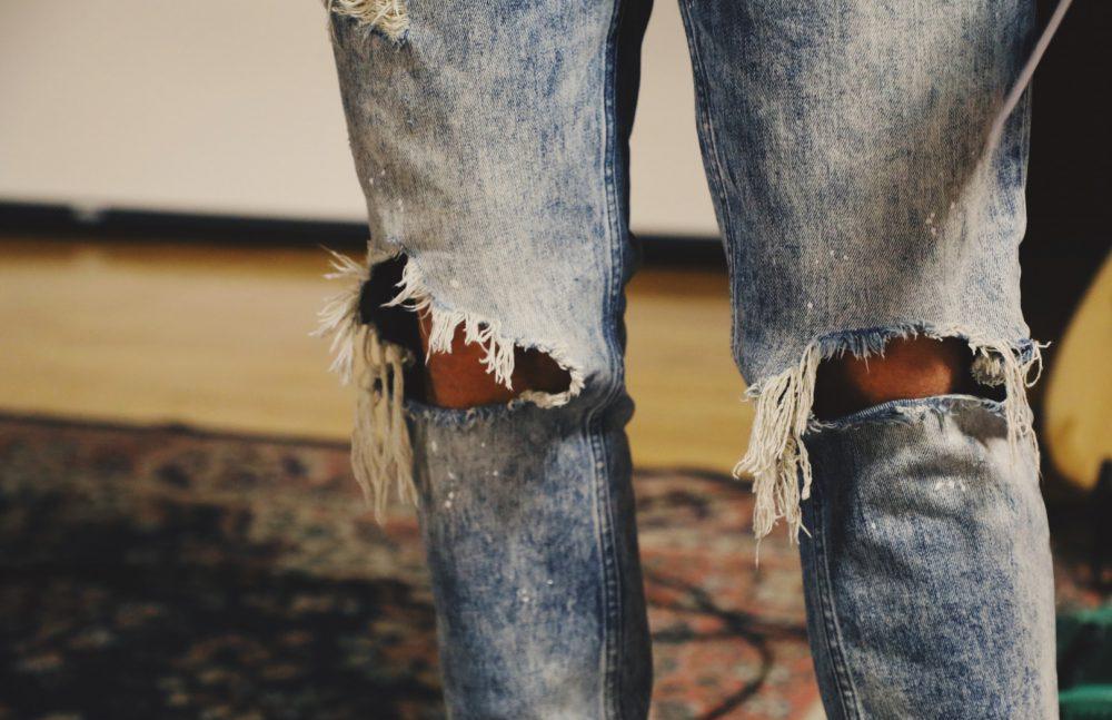 Ripped Jeans Rocker
